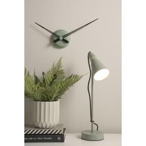 Lampe de bureau métal vert...