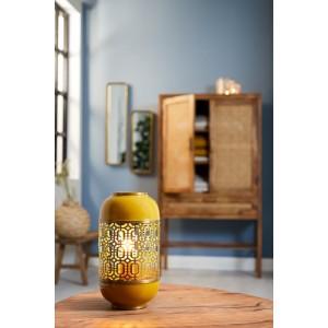 Lampe Marocaine moutarde...