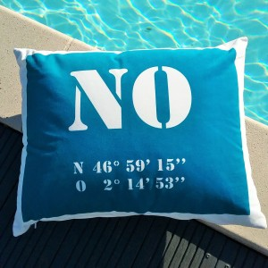 Coussin NO Latitude Plage...